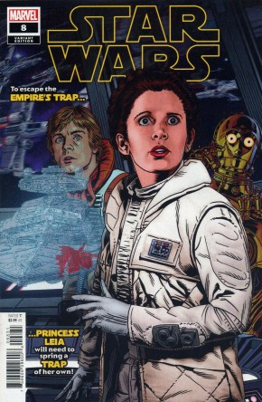 STAR WARS #8 (2020 SERIES) GOLDEN 1 IN 25 INCENTIVE VARIANT