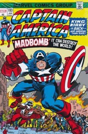 CAPTAIN AMERICA BY JACK KIRBY OMNIBUS HARDCOVER MADBOMB COVER