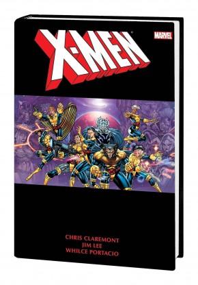 X-MEN BY CHRIS CLAREMONT AND JIM LEE OMNIBUS VOLUME 2 DM VARIANT HARDCOVER