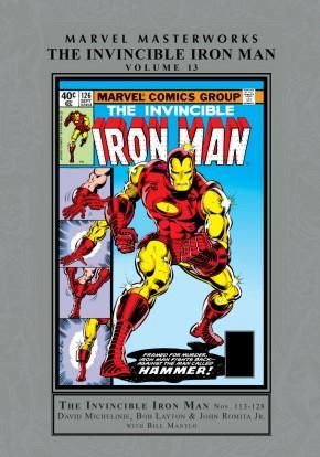 MARVEL MASTERWORKS INVINCIBLE IRON MAN VOLUME 13 HARDCOVER