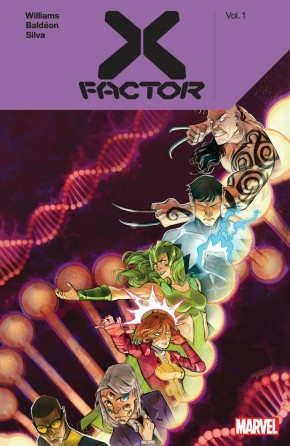 X-FACTOR BY LEAH WILLIAMS VOLUME 1 GRAPHIC NOVEL