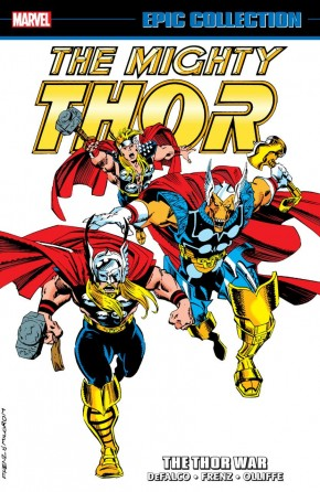 THOR EPIC COLLECTION THE THOR WAR GRAPHIC NOVEL