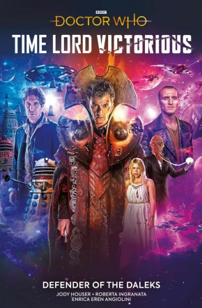 DOCTOR WHO TIME LORD VICTORIOUS VOLUME 1 DEFENDERS OF THE DALEKS GRAPHIC NOVEL