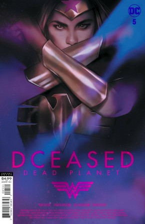 DCEASED DEAD PLANET #5 BEN OLIVER MOVIE CARD STOCK VARIANT