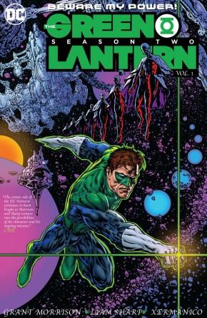 GREEN LANTERN SEASON 2 VOLUME 1 HARDCOVER