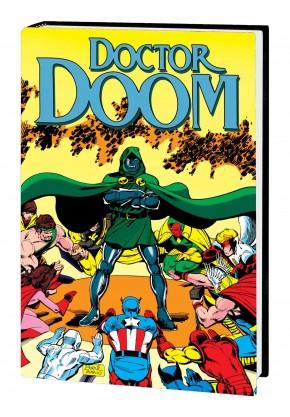 DOCTOR DOOM THE BOOK OF DOOM OMNIBUS HARDCOVER JOHN BYRNE DM VARIANT COVER