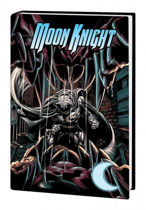 MOON KNIGHT BY HUSTON, BENSON, AND HURWITZ OMNIBUS HARDCOVER FINCH COVER