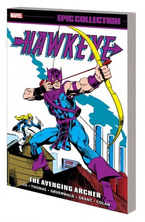 HAWKEYE EPIC COLLECTION THE AVENGING ARCHER GRAPHIC NOVEL