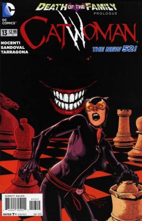 CATWOMAN #13 (2011 SERIES) 2ND PRINTING