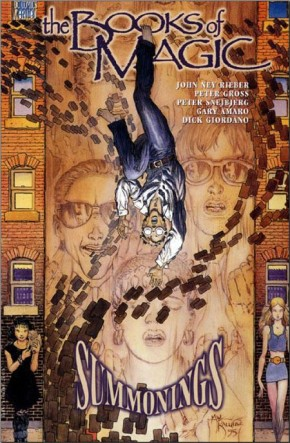 BOOKS OF MAGIC VOLUME 2 SUMMONINGS GRAPHIC NOVEL
