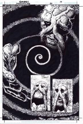 RICHARD CORBEN ORIGINAL ART - SWAMP THING #20 Page 14