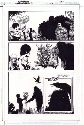 RICHARD CORBEN ORIGINAL ART - SWAMP THING #20 Page 22