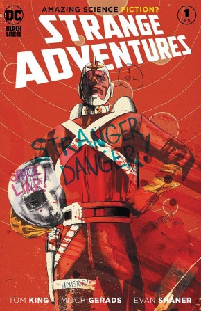 STRANGE ADVENTURES #1 (2020 SERIES) 2ND PRINTING MITCH GERADS VARIANT