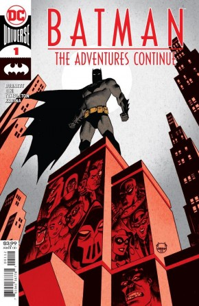 BATMAN THE ADVENTURES CONTINUE #1 2ND PRINTING