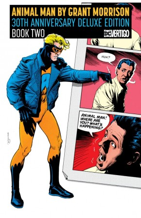 ANIMAL MAN BY GRANT MORRISON BOOK 2 30TH ANNIVERSARY DELUXE EDITION HARDCOVER
