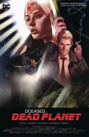 DCEASED DEAD PLANET #1 BEN OLIVER MOVIE CARD STOCK VARIANT