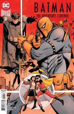 BATMAN THE ADVENTURES CONTINUE #2 2ND PRINTING