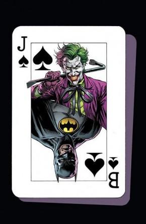 BATMAN THREE JOKERS #1 SOUVENIR PLAYING CARD
