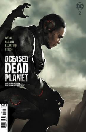 DCEASED DEAD PLANET #2 BEN OLIVER MOVIE CARD STOCK VARIANT