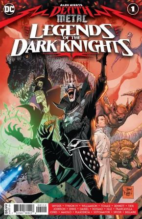 DARK NIGHTS DEATH METAL LEGENDS OF THE DARK KNIGHTS #1 2ND PRINTING