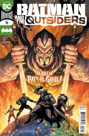 BATMAN AND THE OUTSIDERS #16 (2019 SERIES)