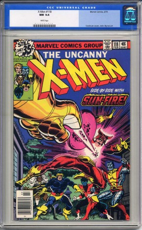 X-MEN #118 CGC 9.4 WHITE PAGES