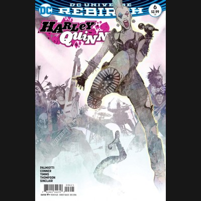 HARLEY QUINN VOLUME 3 #6 VARIANT EDITION