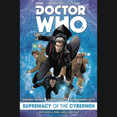 DOCTOR WHO SUPREMACY OF THE CYBERMEN HARDCOVER