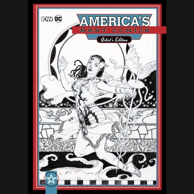 AMERICAS BEST COMICS ARTIST EDITION HARDCOVER J.H. WILLIAMS III VARIANT COVER