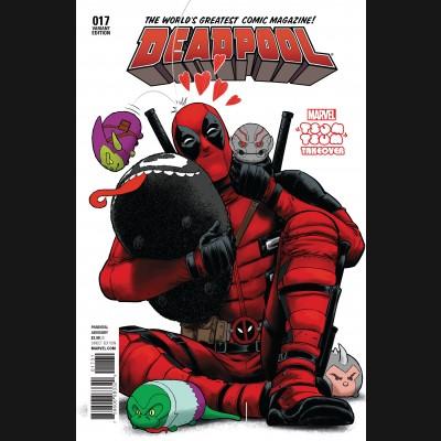DEADPOOL VOLUME 5 #17 RODRIGUEZ TSUM TSUM VARIANT COVER