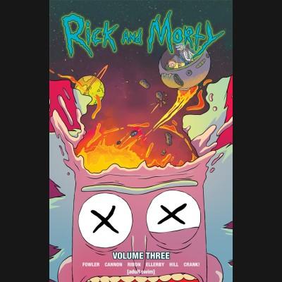 RICK & MORTY VOLUME 3 GRAPHIC NOVEL