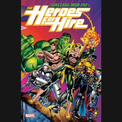 LUKE CAGE IRON FIST AND HEROES FOR HIRE VOLUME 1 GRAPHIC NOVEL