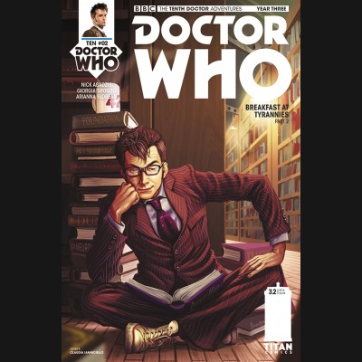 DOCTOR WHO 10TH YEAR THREE #2