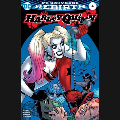 HARLEY QUINN VOLUME 3 #4