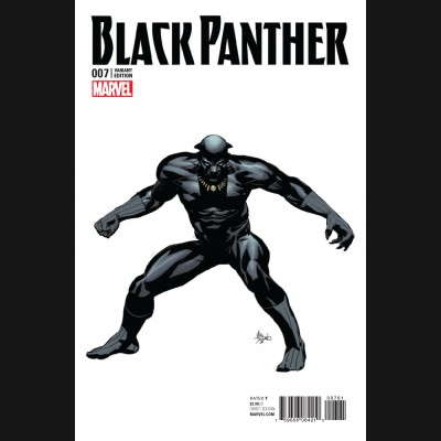 BLACK PANTHER VOLUME 6 #7 DEODATO TEASER 1 IN 10 INCENTIVE VARIANT COVER