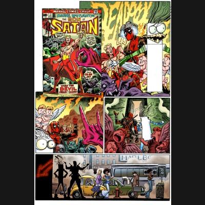 DEADPOOL VOLUME 5 #17 KOBLISH SECRET COMIC VARIANT COVER