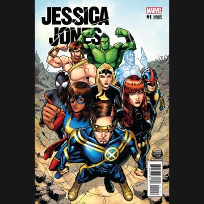 JESSICA JONES #1 CHAMPIONS VARIANT COVER