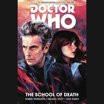 DOCTOR WHO 12TH VOLUME 4 SCHOOL OF DEATH HARDCOVER