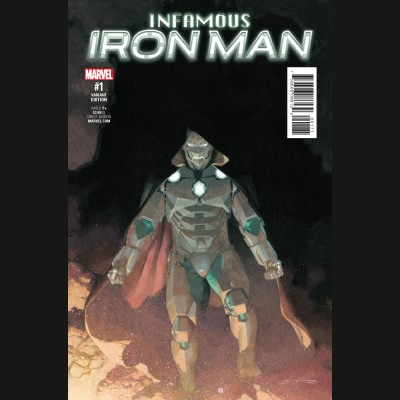 INFAMOUS IRON MAN #1 RIBIC 1 IN 25 INCENTIVE VARIANT COVER