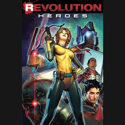 REVOLUTION HEROES GRAPHIC NOVEL