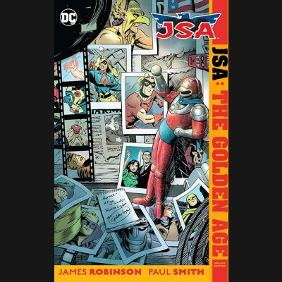 JSA THE GOLDEN AGE DELUXE EDITION HARDCOVER