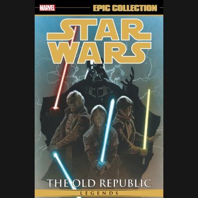 STAR WARS LEGENDS EPIC COLLECTION VOLUME 2 OLD REPUBLIC GRAPHIC NOVEL