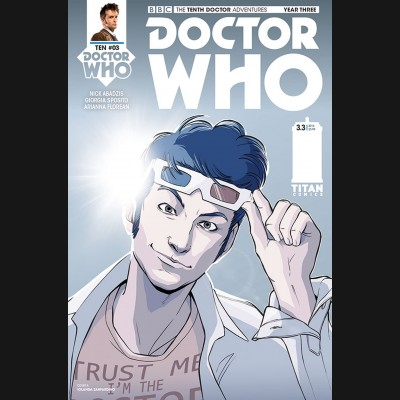DOCTOR WHO 10TH YEAR THREE #3