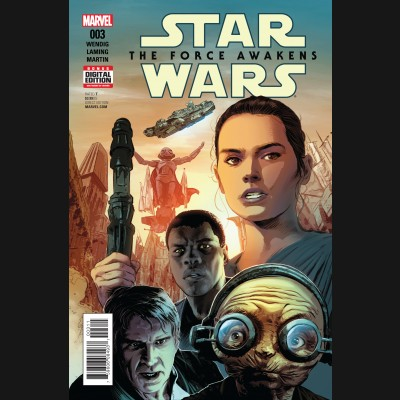 STAR WARS FORCE AWAKENS ADAPTATION #3