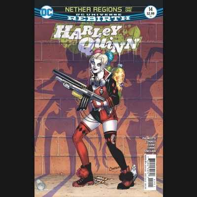 HARLEY QUINN #14 (2016 SERIES)