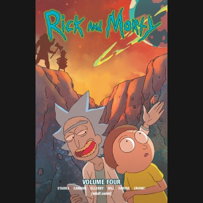 RICK AND MORTY VOLUME 4 GRAPHIC NOVEL