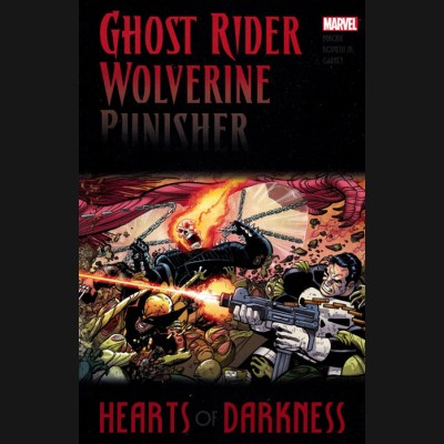 GHOST RIDER WOLVERINE PUNISHER HEARTS OF DARKNESS GRAPHIC NOVEL
