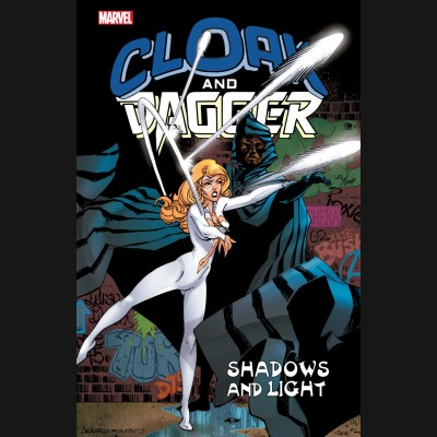 CLOAK AND DAGGER SHADOWS AND LIGHT GRAPHIC NOVEL