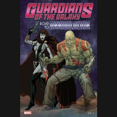 GUARDIANS OF THE GALAXY VOLUME 1 ROAD TO ANNIHILATION GRAPHIC NOVEL